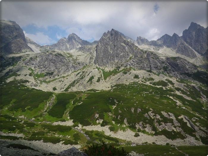119  Dolina Staroleśna (słow  Veľká Studená dolina